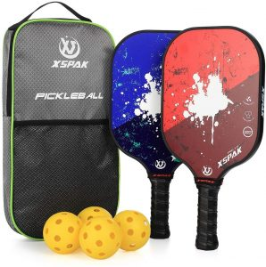 XSPAK Pickleball Paddles Set
